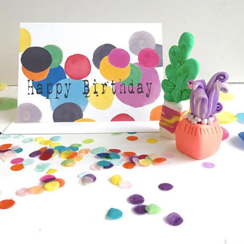 Cards - Confetti Happy Birthday | Totally Innocent |  Lucas loves cars