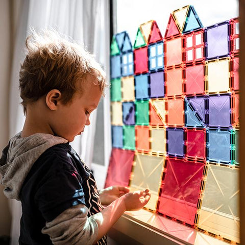 Connetix Tiles  | Magnetic tiles | Lucas loves cars