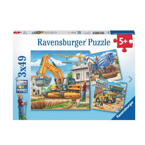 Ravensburger puzzle | Construction Truck jigsaw | Lucas loves cars