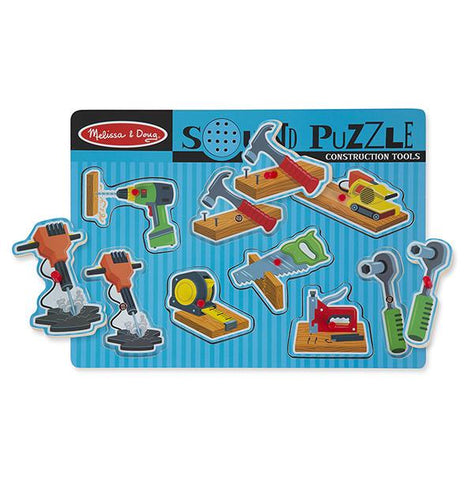 Melissa and Doug Wooden tool puzzle | Lucas loves cars
