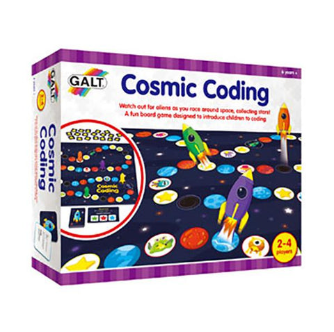 Cosmic Coding Game | Learn to code | Lucas loves cars