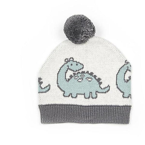 Baby Dinosaurs hat | Cotton baby beanie | Baby gift | Lucas loves cars