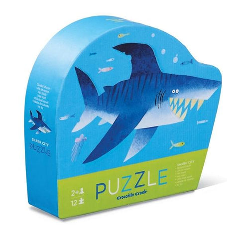 Mini Puzzle Shark | Crocodile Creek | Lucas loves cars