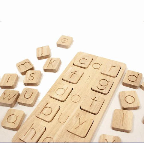 CVC word building wooden toy  | Wooden toys | Educational  toy store | Lucas loves cars