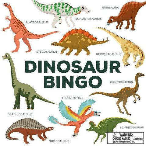 Dinosaur Bingo | Brumby Sunstate - supplier |  Lucas loves cars