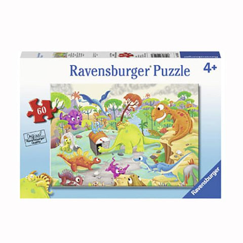 Ravensburger puzzles | Dinosaur Jigsaw | Kids jigsaws | Lucas loves cars