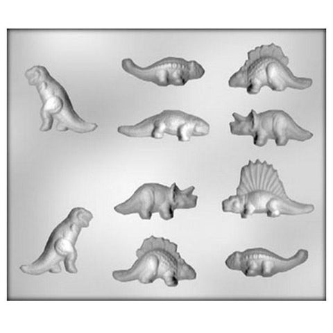 Chocolate moulds - Dinosaurs