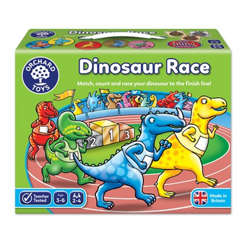 Dinosaur Race Game | orchard toys |  Lucas loves cars