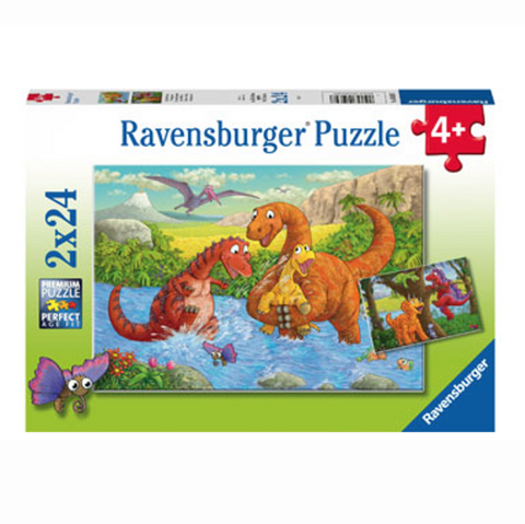 Ravensburger puzzles | Dinosaur jigsaw puzzle | Lucas loves cars