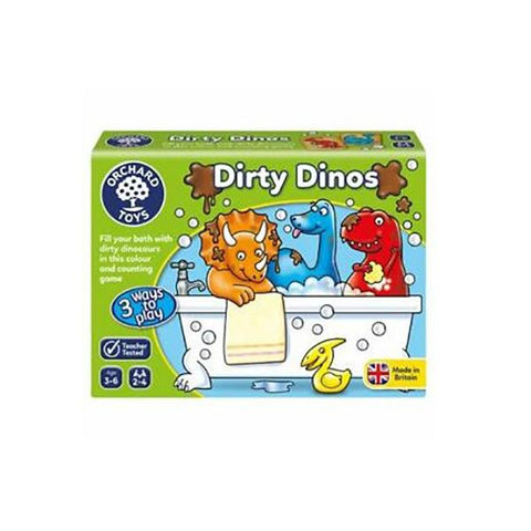 Dirty Dinos | Orchard Toys | Games for 3 year olds | Lucas loves cars