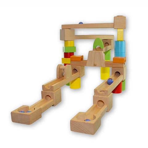 Marble run Wooden toy  | Discoveroo toys | Lucas loves cars