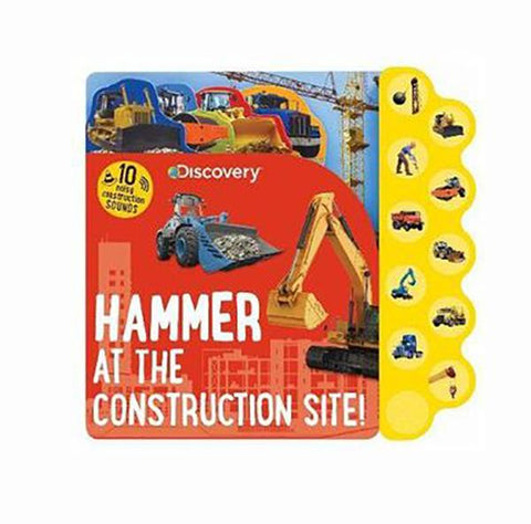 Construction sound book | Construction book  | kids books  | Lucas loves cars