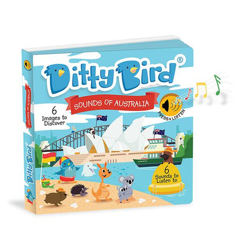 Ditty Bird Sounds of Australia | ditty bird Board Book | Lucas loves cars
