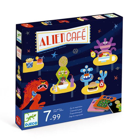 Djeco toys | Alien Cafe Game | Lucas Loves Cars