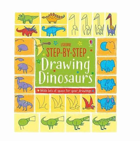 Drawing Dinosaurs  | kids books  | dinosaur books | Lucas loves cars