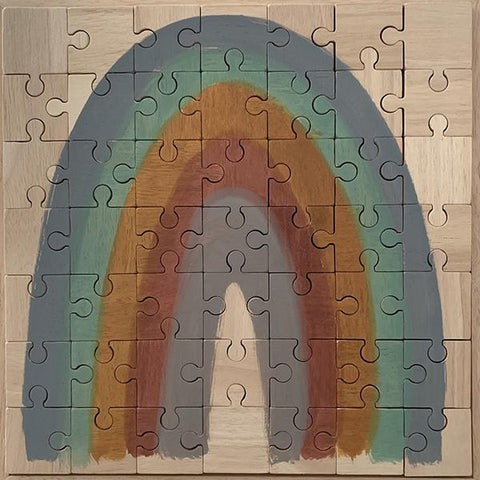 Papoose Earth Rainbow Puzzle