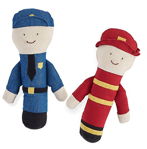 Policeman Fireman rattle | Lucas loves cars