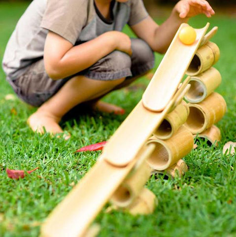 Explore Nook  Bamboo Construct  Roll | Open ended toys | Sustainable toys | Lucas loves cars