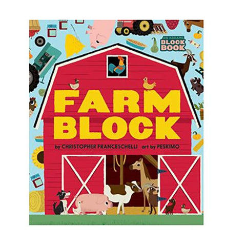 Farmblock book  | Kids books | Farm toys | Lucas loves cars