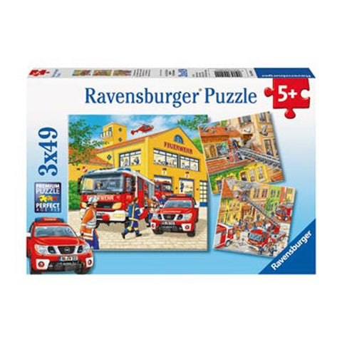 Ravensburger puzzle | Fire Truck jigsaw | Fire engine toys | Lucas loves cars