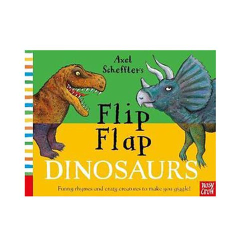 Flip Flap Dinosaurs | Brumby Sunstate - supplier |  Lucas loves cars