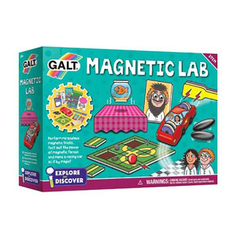 Magnetic Lab | learning game | Lucas loves cars