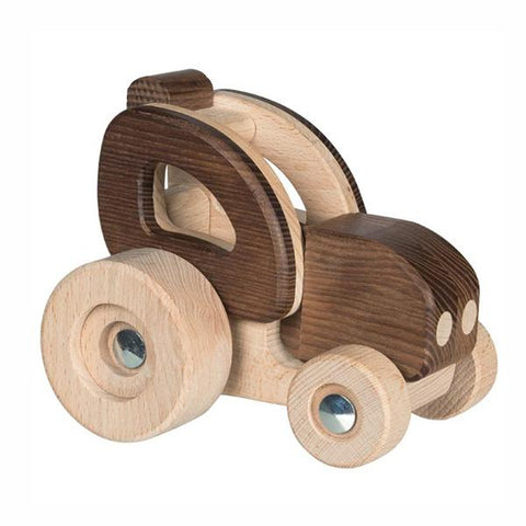 Goki Nature |  Wooden Tractor | Goki toy Australia | Lucas loves cars