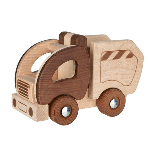 Nature Cement Mixer | Goki Australia | wooden toys | Lucas loves cars