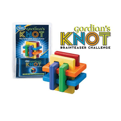 Gordians Knot | Think fun | logic games | Lucas loves cars