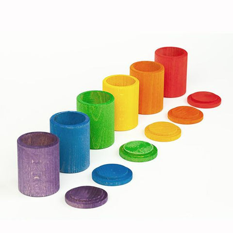 Grapat - 6 coloured cups and lids | Grapat |  Lucas loves cars