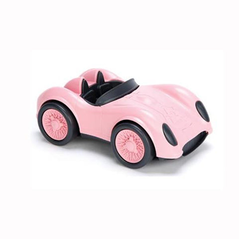 Pink race car | Green toys |  eco toys |  Lucas loves cars