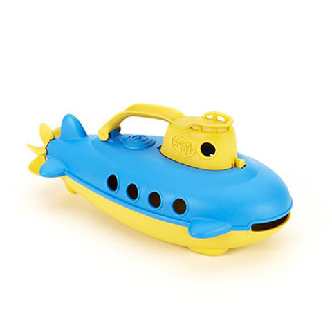 Green toys submarine | Lucas loves cars
