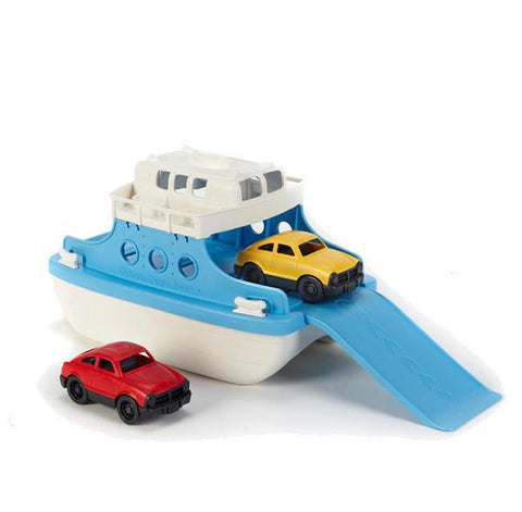 Ferry Boat Bath toy | Green Toys |  Lucas loves cars