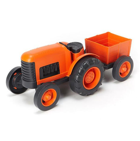 Green Toys Tractor | Lucas loves cars