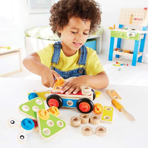 Hape Basic Builder   | Hape  | Wooden toys | Lucas loves cars