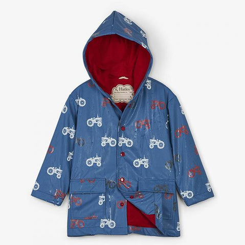 Farm Tractor Raincoat  | Hatley raincoat Australia  | Hatley | boys raincoat