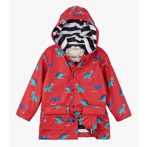 Hatley kids raincoat | Scooting Dinosaurs | Lucas loves cars