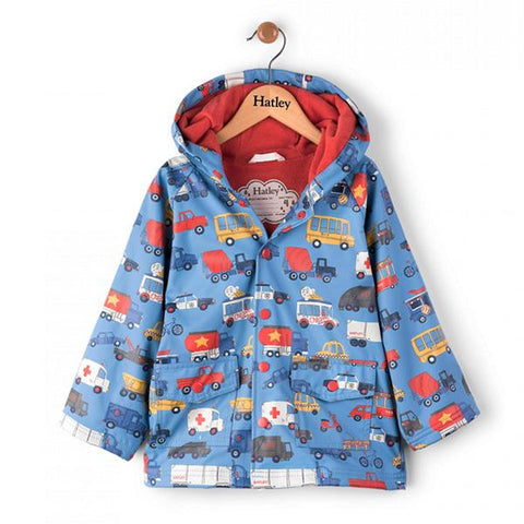 Hatley - Raincoat - Rush Hour | Hatley |  Lucas loves cars