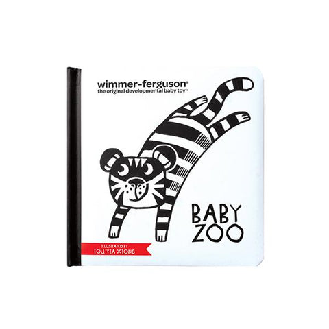 High contrast zoo book | Baby gifts | Manhattan Toy Company | Lucas loves cars