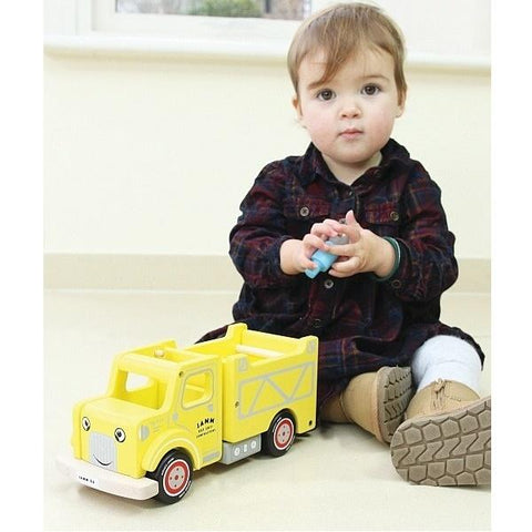 Indigo Jamm |  Dump Truck  | Trucks for 2 year olds  | Lucas loves cars