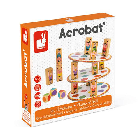 Janod Acrobat | Balancing game | Gift for 5 year olds | Lucas loves cars