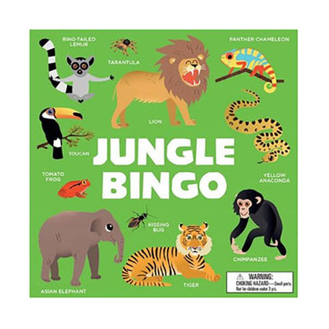 Jungle bingo family game | Great gift for 5 year olds | Lucas loves cars