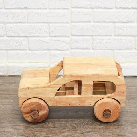 Large Wooden car | wooden cars  | Qtoys | Lucas loves cars