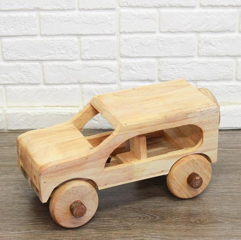 Wooden wooden CRV car | wooden cars  | Qtoys | Lucas loves cars