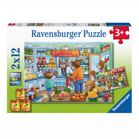 Ravensburger puzzles | shopping jigsaw | Jigsaw for kids | Lucas loves cars