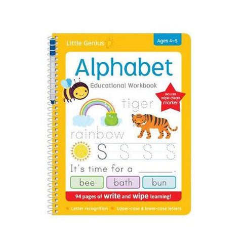 Write and wipe Alphabet | Learning the alphabet | kids books  | Lucas loves cars