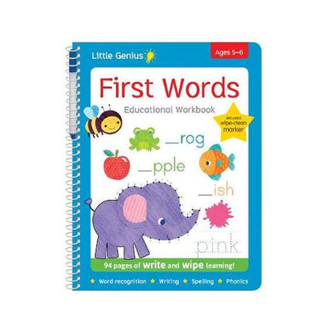 Little Genius - Write and Wipe First Words