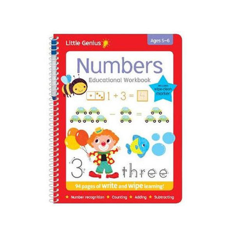 Little Genius - Write and Wipe Numbers