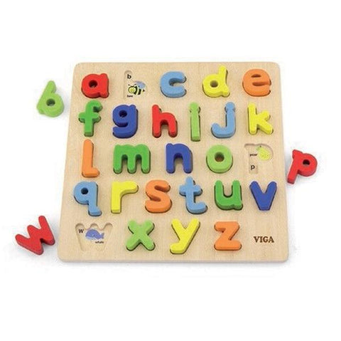 Lower case letter puzzle  | Viga toys | Wooden puzzles  | Lucas loves cars