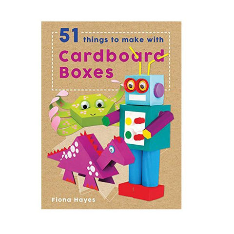 Make with Cardboard boxes | craft books  | Lucas loves cars